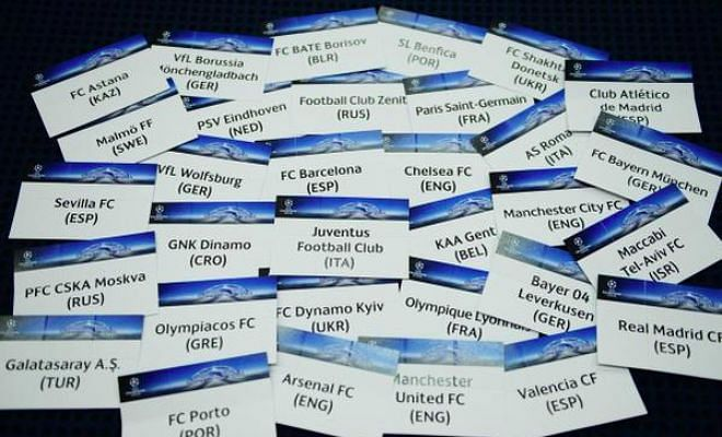 UEFA Champions League Draw 2015/16
