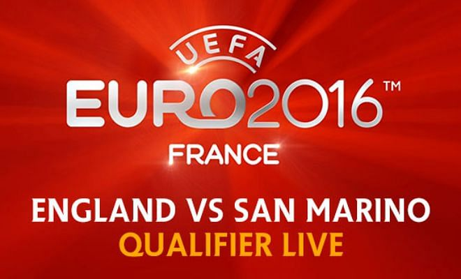 UEFA Euro Qualifier LIVE: England vs San Marino