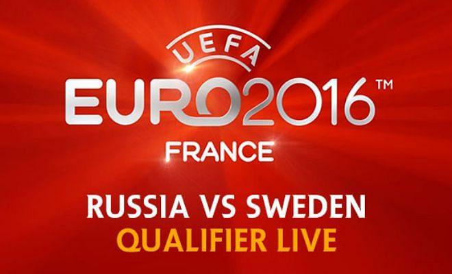 UEFA Euro Qualifier LIVE: Russia vs Sweden