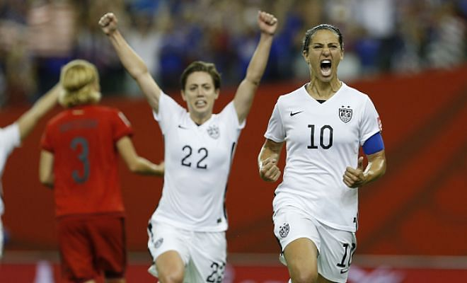 USA beat Germany to qualify for FIFA WWC final
