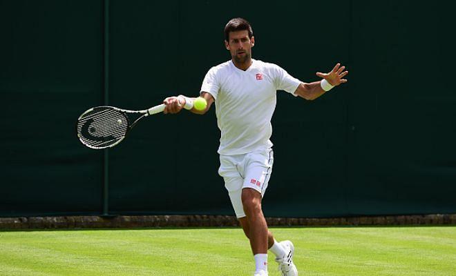Wimbledon 2015: Djokovic and Serena reach second round