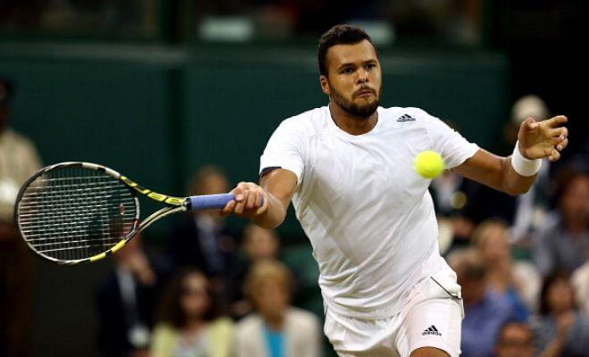 Wimbledon 2015 Day 2- Jo-Wilfred Tsonga vs Gilles Muller