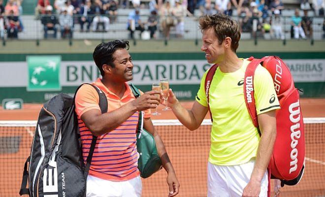 Wimbledon Day 3- Paes/Nestor vs Lajovic/Troicki