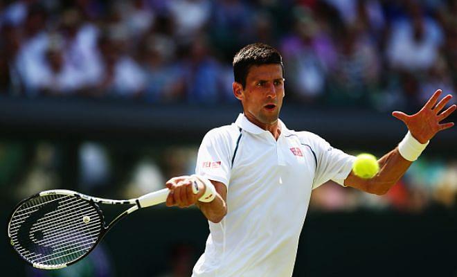 Wimbledon Day 7-Novak Djokovic Vs Kevin Anderson