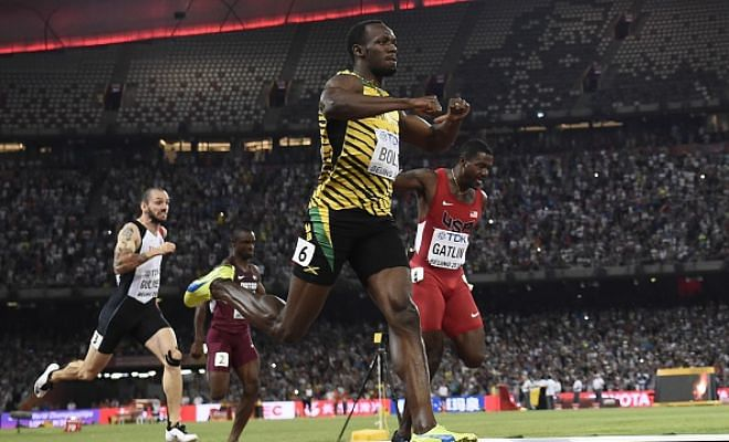 Usain Bolt wins 200m - Twitter reactions