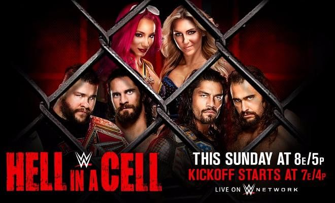 WWE Hell In A Cell 2016 Results and live commentary