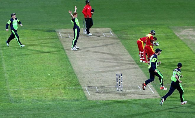 Zimbabwe beat Ireland by 2 wickets
