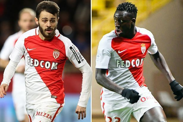 Image result for benjamin mendy and bernardo silva