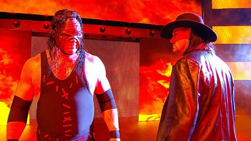 Kane and The Undertaker teamed up as the 'Brothers of Destruction'