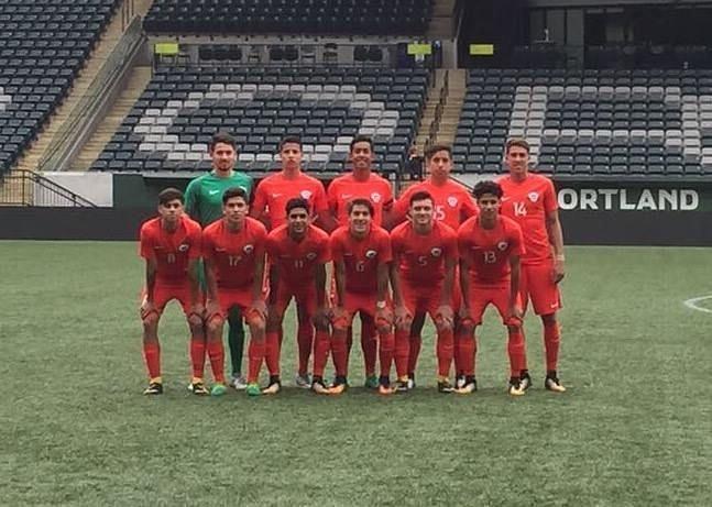 The Chile U-17s