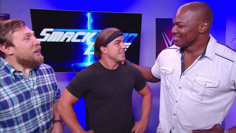 Image result for shelton benjamin made his return to SmackDown Live