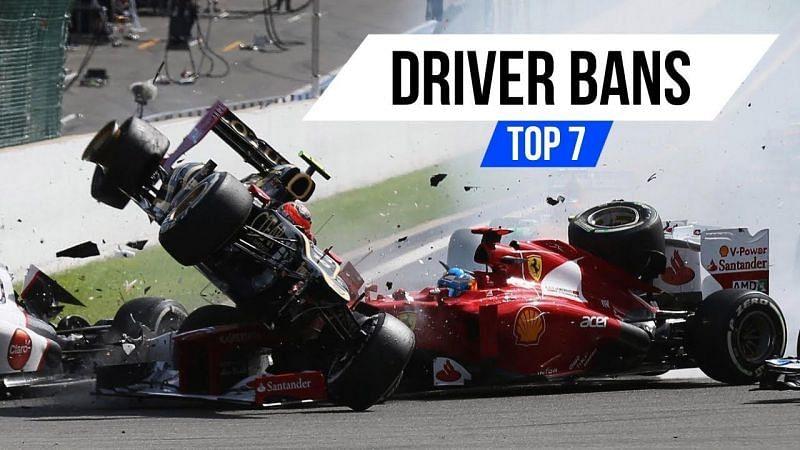 Formula One: Top 7 driver Bans