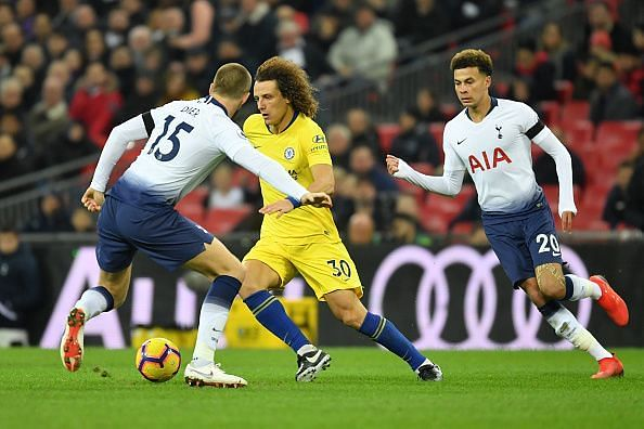 Luiz struggled severely and might have just played his way out of Sarri's long-term plans