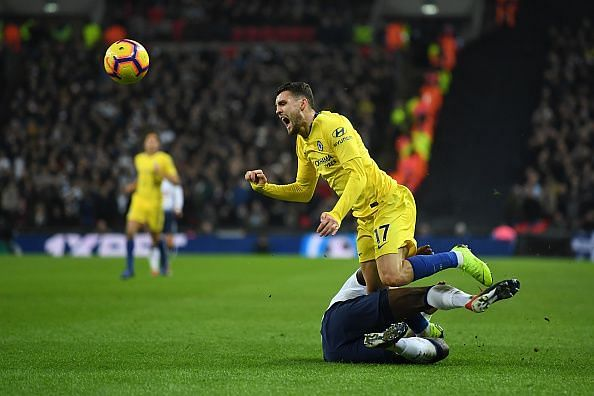 Sissoko's strong but firm tackle on Kovacic typified an excellent midfield display from the Frenchman