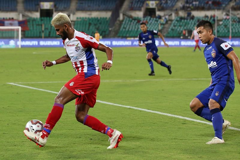 Jayesh Rane scored the all-important first goal of the match