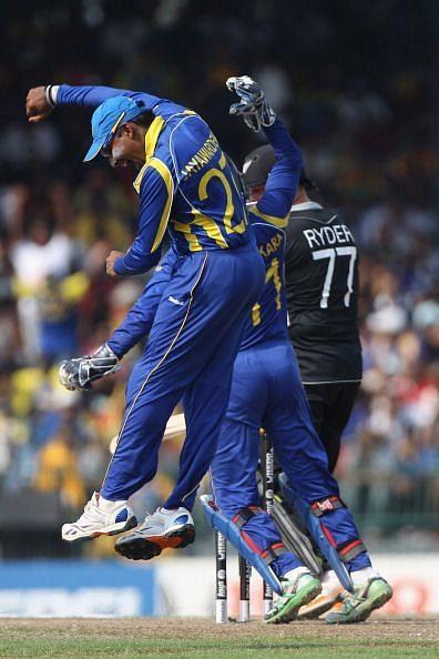 New Zealand v Sri Lanka - 2011 ICC World Cup Semi-Final