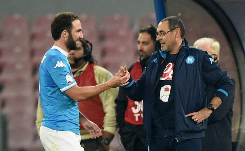 Sarri may be looking to reunite with Higuain