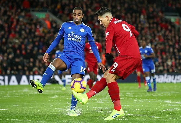 Pereira constantly frustrated Liverpool's frontline - marshaling Firmino and keeping the hosts fairly quiet