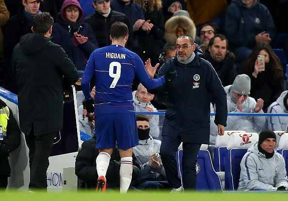 Sarri, who has come under-fire in recent weeks, has got his man