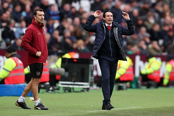 Unai Emery certainly has his work cut out with tougher fixtures to come in quick succession for Arsenal