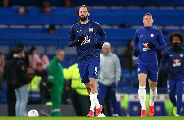 Higuain, who has endured a poor season so far, was rewarded with another change of scenery...