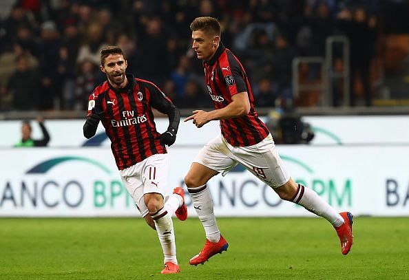 Piatek has now scored 21 goals in 23 appearances across the Serie A and Coppa Italia this season