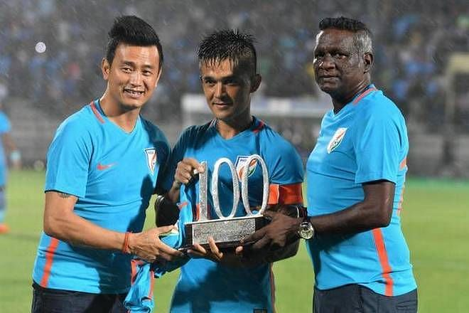 Bhaichung Bhutia was all praise for Sunil Chhetri and IM Vijayan