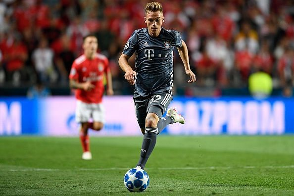 Kimmich continues to prove his worth at Bayern, as one of the world's best fullbacks