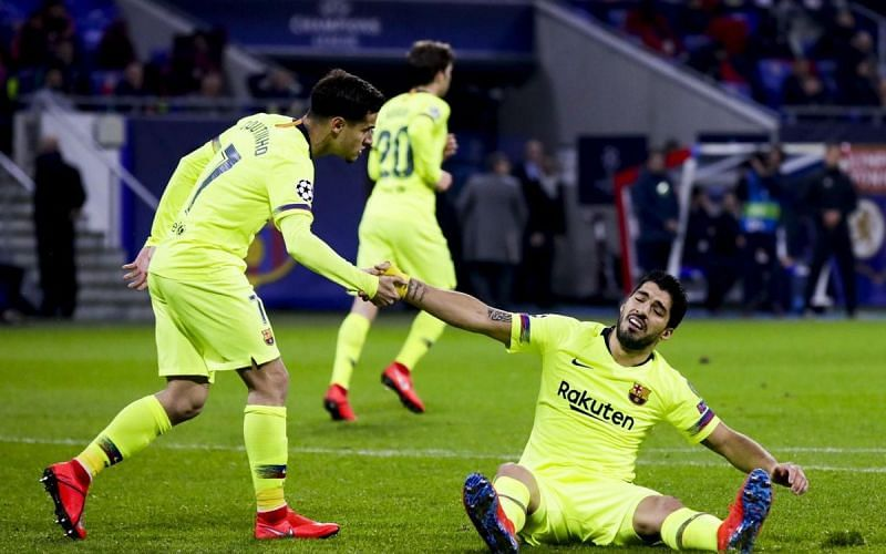 Suarez's shooting struggles continued, as Barca failed to score for the third time this season