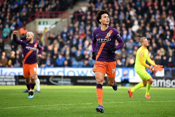Sane has emerged as one of City's most dependable performers, despite an indifferent start this season