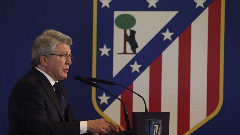 Atletico president Enrique Cerezo
