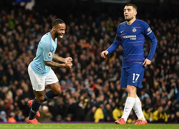 Sterling excelled, scoring two and assisting one as City eased to an emphatic win