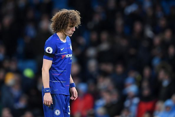 Luiz was often second best and yet again, exposed as a rampant City punished Chelsea's lacklustre defence