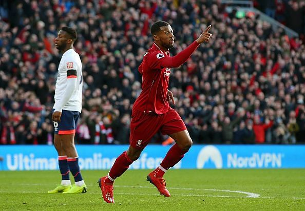 Wijnaldum impressed throughout as Liverpool cruised to an important home win