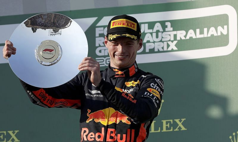 Max power: Verstappen gets podium for Red Bull and Honda