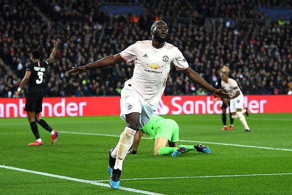 Lukaku pounced on two opportunities to devastating effect against a nervy PSG backline