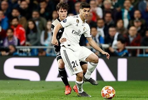 Asensio was one of few bright sparks for Real, coming off the bench once again