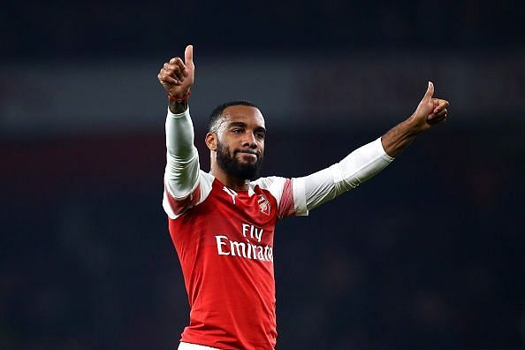Lacazette has enjoyed a good campaign with Arsenal but again is omitted from Deschamps' first-team plans