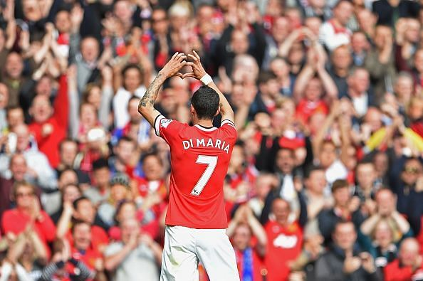 di Maria's matchwinning display vs. Everton was one of few individual displays of brilliance in England