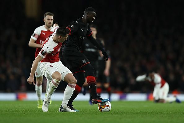 Xhaka was quietly brilliant again for Arsenal in a game where they needed to stay disciplined