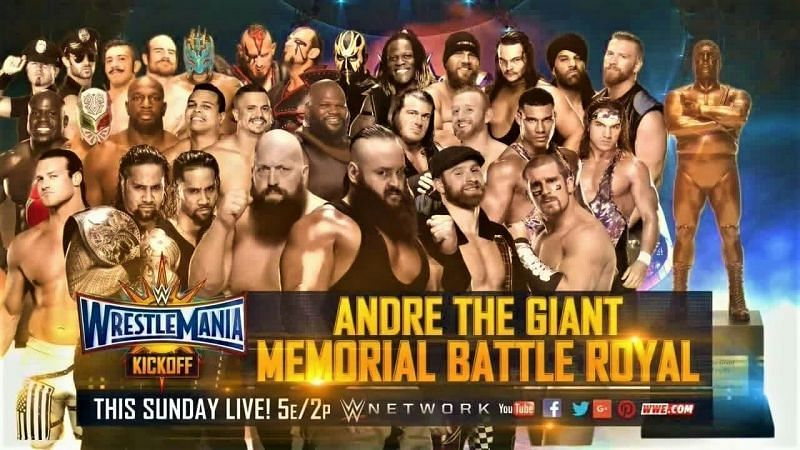 WWE WrestleMania 35: 2 Legit reasons why the Andre the Giant Memorial Battle Royalneeds to be canceled
