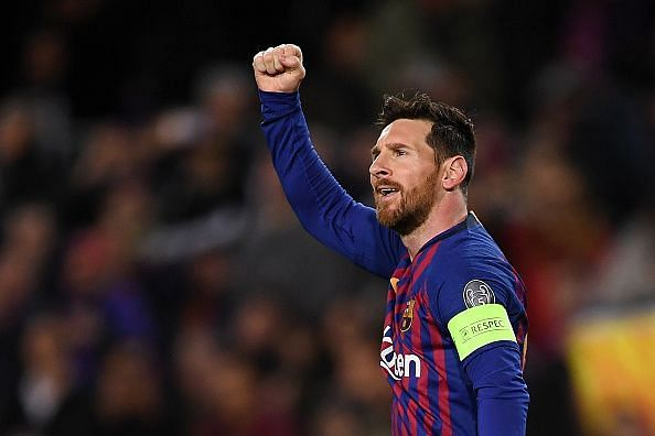 Two goals and two assists for Lionel as Barca dominated and he was unsurprisingly at the forefront