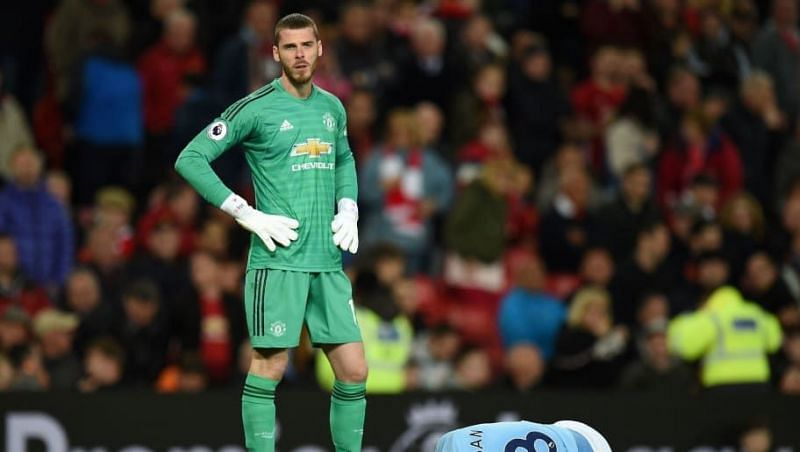 de Gea endured another frustrating goalkeeping display - beaten at his near post for both goals