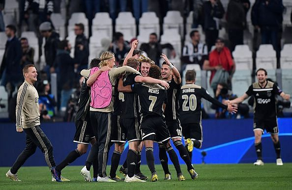 Ajax have emerged as this season's dark horses to go all the way and win in Madrid next month