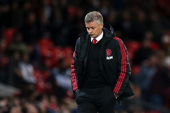 Ole's men threatened early on but wilted as the match wore on and looked bereft of ideas at times