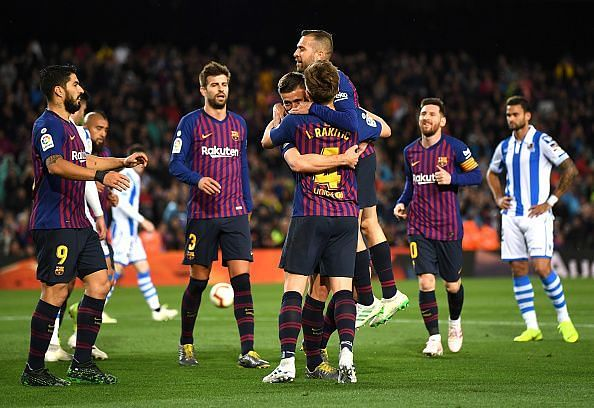 Barcelona Transfer Roundup: Zinedine Zidane wants €70 million rated Barcelona target, club calls off potential raid for €150 million rated forward, and more - April 21, 2019