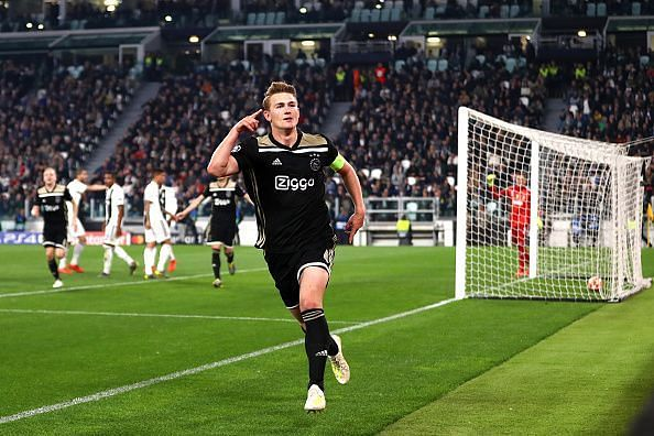 de Ligt delivered a captain's display - excelling as he usually does against Ronaldo and co, while scoring
