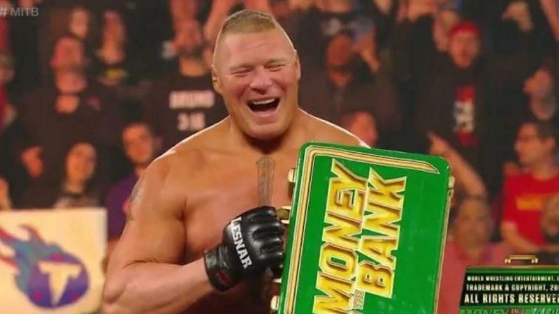 5 Reasons Why WWE ended MITB with Brock Lesnar