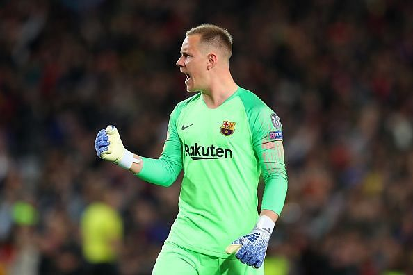 ter Stegen stood tall after a hard-earned clean sheet, despite Liverpool's waves of pressure