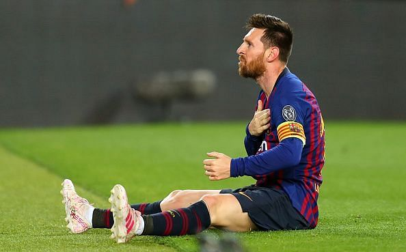 Messi shows that he is the master of the 'Dark Arts' too